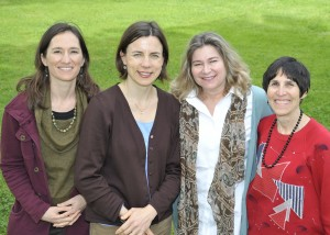 From left: Paloma Cain, Christiane Wolf, Wendy Schmelzer, Joni Cohen